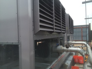 Carrier Chiller Install