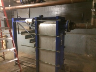 Chiller Installed Flat Plate in 12 Story - Money Savings