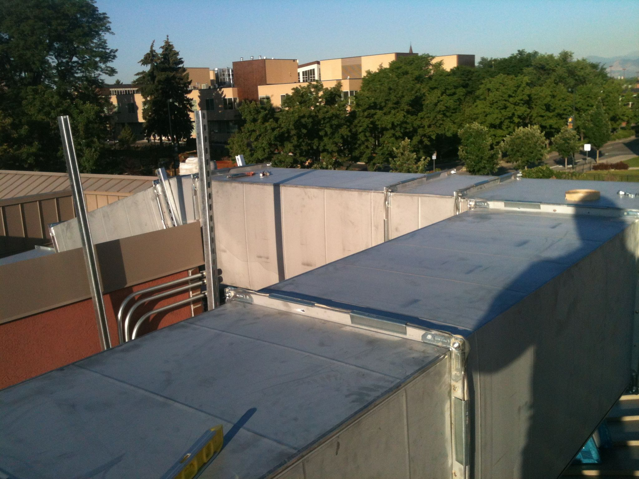 Rooftop Duct - Denver University