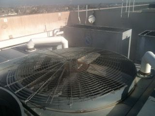Top View of Cooling Tower - 6 ft Blades